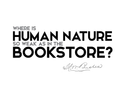 Henry Ward Beecher quotes human bookstore